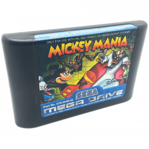 Sega Megadrive Mickey Mania PAL Games for sale