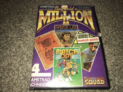 Amstrad CPC Disk games - they sold a million - the hit squad
