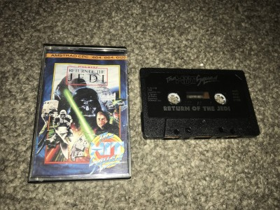 Amstrad CPC game Return of the jedi - the hit squad