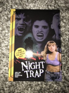 Limited run games card silver night trap
