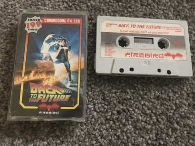 Commodore 64 game Back To The Future