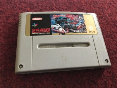 Super Nintendo SNES game Street Fighter 2