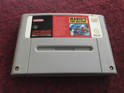 Super Nintendo SNES game Mario Is Missing