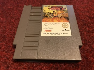 Nintendo NES game Operation Wolf