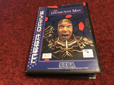 Sega Megadrive hame The Lawnmower Man
