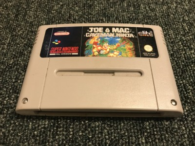 Super Nintendo Game Joe & Mac Caveman Ninja