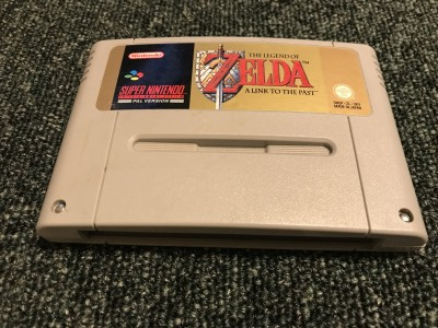 Super Nintendo Game Legend of zelda