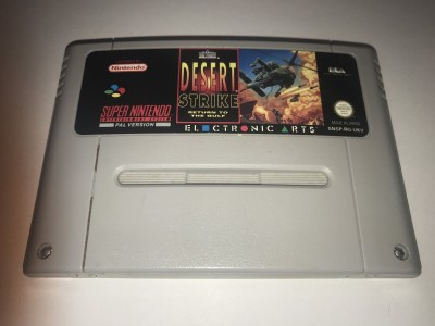 Super Nintendo SNES game Desert Strike