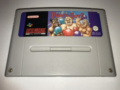 Super Nintendo SNES game Super Punch Out
