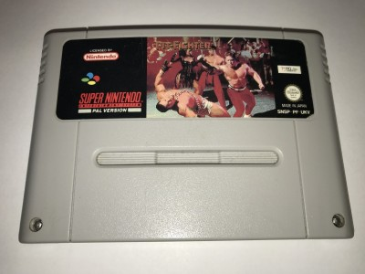 Super Nintendo SNES game Pit Fighter