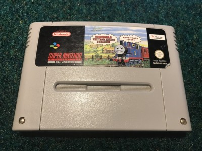 Super Nintendo SNES game Thomas The Tank Engine & Friends