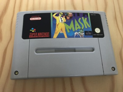 Super nintendo SNES The Mask game