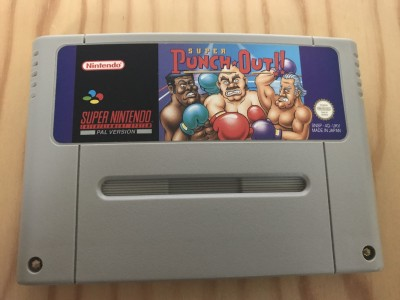 Super nintendo SNES Super Punch Out game
