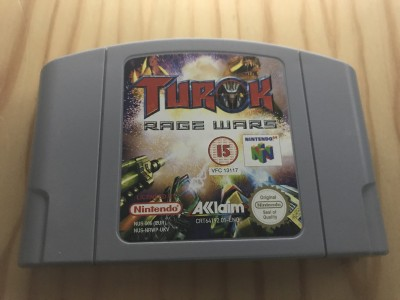 Nintendo 64 Turok Rage Wars game