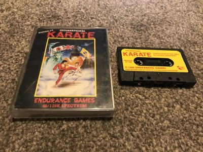 Zx Spectrum 48/128k game International karate system 3