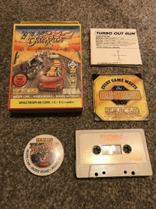 Zx Spectrum 48/128k game Turbo Outrun