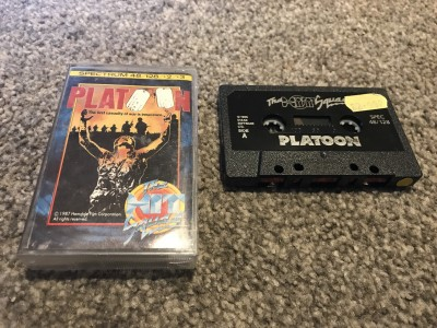 ZX Spectrum 48k game Platoon - The Hit Squad