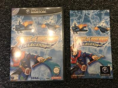 Nintendo gamecube Skies of Arcadia game