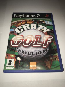 Sony PS2 Crazy Golf world tour (complete)