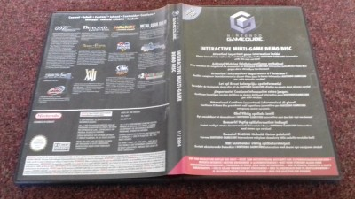 Nintendo Gamecube Interactive Multi-Games Demo Disc
