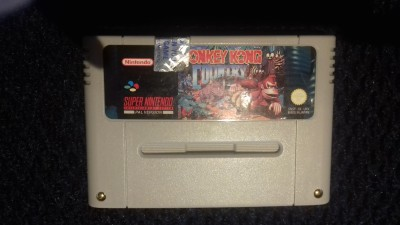Super Nintendo SNHS Donkey Kong Country