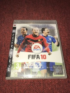 Sony Playstation 3 Fifa 10 sealed game
