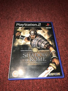 Sony playstation 2 Shadow of Rome game