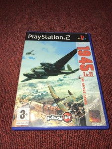 Sony playstation 2 1945 1&2 shump games