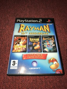 Sony Playstation 2 Rayman 10th Anniversary game