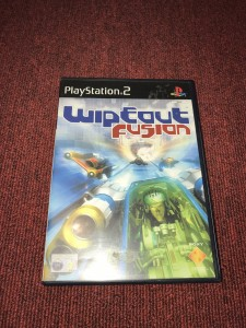 Sony playstation 2 Wipeout fusion racing game