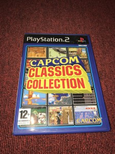 Sony playstation 2 Capcom classics collection game