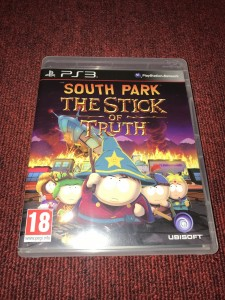 Sony Playstation 3 South park the stick of truth game