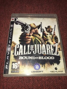 Sony Playstation 3 call of juarez game