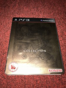Sony Playstation 3 Castlevania collection steelbook game