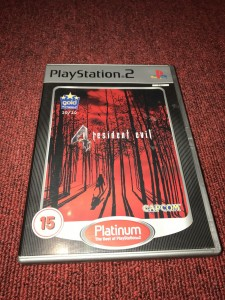 Sony playstation 2 Resident Evil 4 game