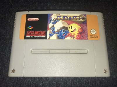 Super nintendo SNES Pac-Attack game