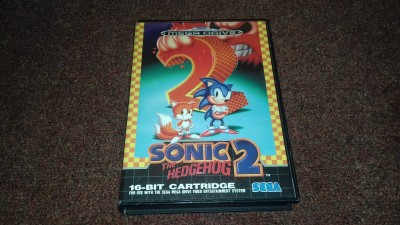 Sega Megadrive Sonic the Hedgehog 2