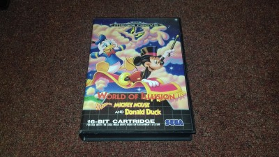 Sega Megadrive World of Illusion