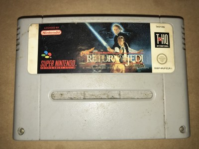 Super nintendo snes game - Starwars return of the jedi - PAL Cart only