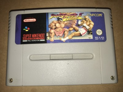 Super nintendo snes game - Street Fighter 2 turbo - PAL Cart only