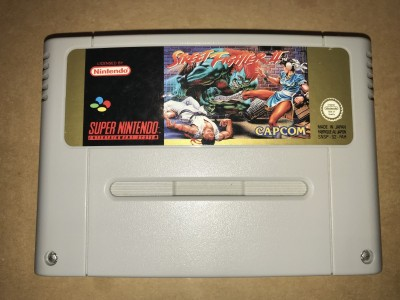 Super nintendo snes game - Street Fighter 2 - PAL Cart only