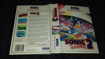 Sega Master System Sonic the Hedgehog 2