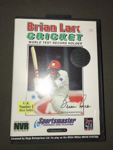 sega megadrive game Brian lara cricket (boxed & complete)