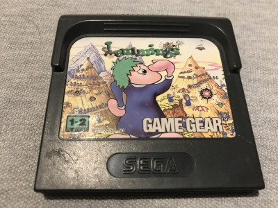 Sega gamegear game lemmings