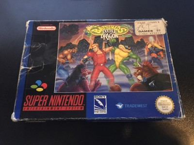 Super nintendo snes battletoads double dragon boxed and complete