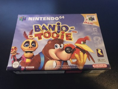 Nintendo 64 n64 game banzo - tooie boxed and complete