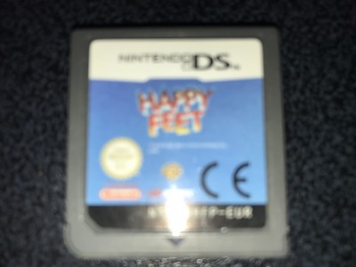 Nintendo ds game happy feet