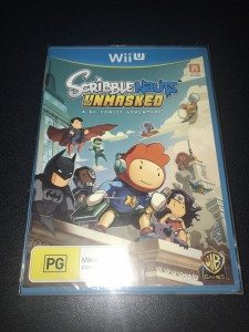 Wii U game scribblenauts  unmasked brand new sealed