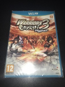 Wii U game Warriors orochi 3 hyper brand new sealed