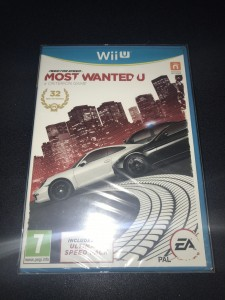 Wii U game need for speed brand new sealed